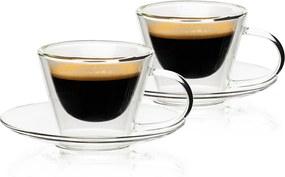 4home Termo pohár na espresso Elegante Hot&Cool, 80 ml, 2 ks