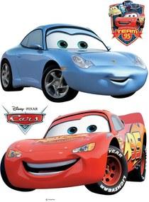 AG Design Disney Cars Auta - nálepka na stenu 30x30 cm