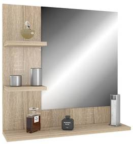 Zrkadlo dub sonoma Ariad - ľavé