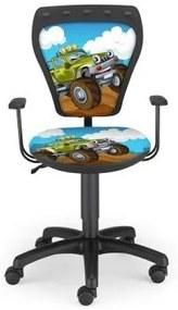 Detská otočná stolička MINISTYLE AUTO
