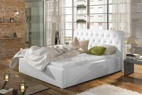 Čalúnená posteľ s úložným priestorom 180 x 200 cm Mia S úložným prostorem