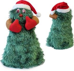 [lux.pro]® Spievajúci, točiaci sa a tancujúci vianočný stromček