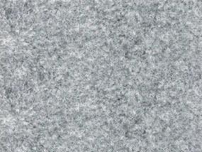 Metrážový koberec Santana 14 šedá s podkladem gel - Rozměr na míru bez obšití cm