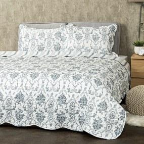 4Home Prehoz na posteľ Blue Patrones, 220 x 240 cm, 2 ks 50 x 70 cm
