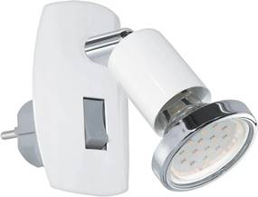 Eglo Eglo 92925 - LED svietidlo do zásuvky MINI 4 1xGU10-LED/3W/230V EG92925