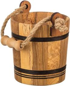 Drevobox Drevené vedro dubové