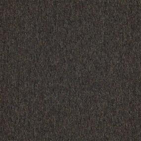 Kobercový čtverec Cobra 5532 tmavě hnědá - 50x50 cm