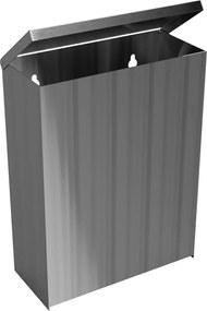 Odpadkový kôš Bemeta 6 l, nerez, mat 101915055