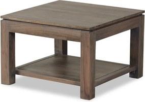 Konferenčný stolík zmasívneho sivo moreného akáciového dreva Zara Sofa