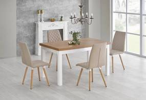 Jedálenský stôl rozkladací TIAGO dub sonoma Halmar