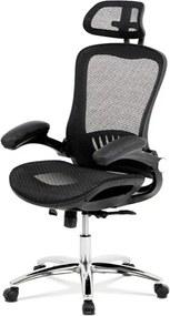 Sconto Kancelárska stolička CLIFF čierna