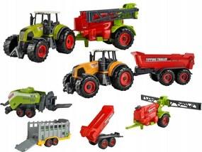 ISO 6136 Farmárska súprava 6 ks 1:30 zelená