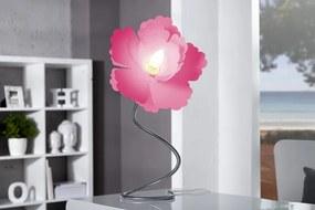 Bighome - Stolná lampa LUCIDA - ružová