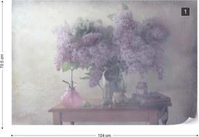 Fototapeta GLIX - Sweet Lilacs + lepidlo ZADARMO Vliesová tapeta  - 104x70 cm