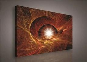 Obraz na plátne, rozmer 75 x 100 cm, hviezdne nebo, IMPOL TRADE 134O1