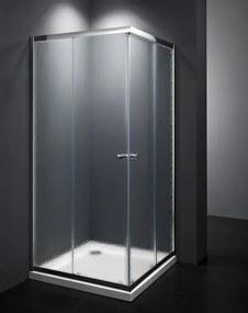 Sprchový kút štvorec 80x80x185 cm Multi Basic chróm lesklý SIKOMUQ80CRCH