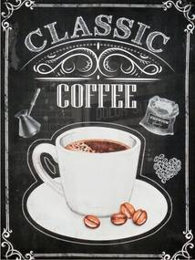 Obraz na plátne - Klasik káva, 30x40 cm