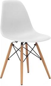 Židle DSW, bílá (Buk) S24237 CULTY +