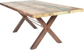 Bighome - Jedálenský stôl TISE 180 cm - prírodná, hnedá