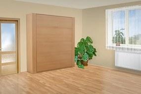 Nabytekmorava Výklopná posteľ VS 3070P, 200x140cm nosnost postele: štandardná nosnosť, farba lamina: buk 381