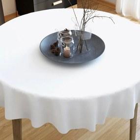 Goldea bavlnený obrus biely - guľatý Ø 140 cm