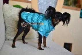 PETOP Modrá bunda pre psov LOLO L
