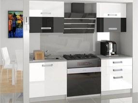 Paneláková kuchyňa Daisy 120 cm - bez LED osvětlení