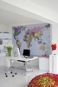 Komar Fototapeta - World Map