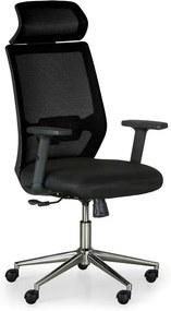 Kancelárska stolička Edge, čierna