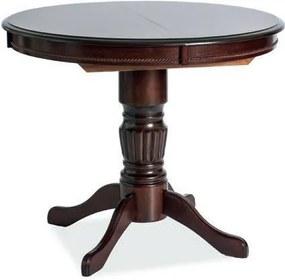 MARCO rozkladací jedálenský stôl, tmavý orech