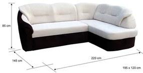 Rohová sedacia súprava ALICJA