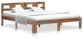 vidaXL Posteľný rám, drevený masív sheesham 160x200 cm