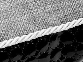 Matrac Cazo Black Diamond šedá XL - 90 x 75 cm