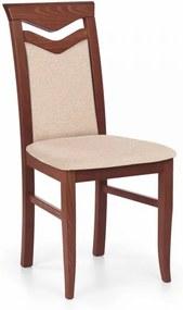 Jedálenská stolička Citrone tmavá čerešňa