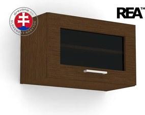 DREVONA Skrinka wenge 60x36 REA ALFA UP 002