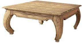Sconto Konferenčný stolík BOMBAY prírodný palisander