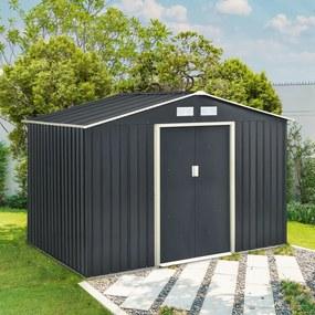 InternetovaZahrada - Záhradný domček XL - antracit