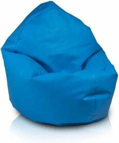 Ecopuf Sedací vak ECOPUF - ZAC - ekokoža E11 - Tmavo modrá