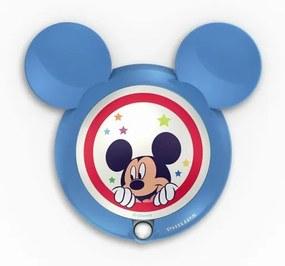 Philips 71766/30/16 Disney Mickey detské nočné svietidlo so senzorom, LED, 0.06W, bez baterií