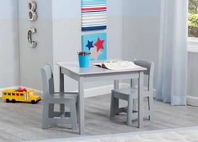 Delta Detský stôl so stoličkami sivý grey TT89601GN-026-EU