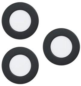 Eglo Eglo 99146 - SADA 3x LED podhľadové svietidlo FUEVA 5 3xLED/2,7W/230V EG99146