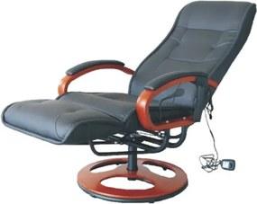 Masážní křeslo, elektrické, černé, ARTUS 2 11013947 Tempo Kondela