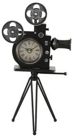 Retro hodiny Kamera