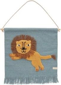 OYOY Textilná dekorácia na stenu Lion