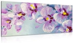 Obraz romantické fialové kvety