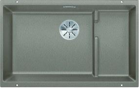 Kuchynský drez pod desku - Blanco SUBLINE 700 U Level tartufo + kôš z nerezu 523459