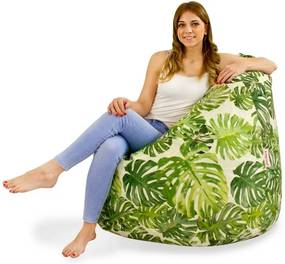 Sedací vak SAKO Jungle - L, materiál polyester