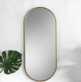 Zrkadlo Nuka slim gold z-nuka-slim-gold-1764 zrcadla