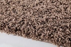 Ayyildiz koberce Kusový koberec Dream Shaggy 4000 Mocca kruh - 120x120 kruh cm