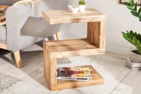 Dizajnový odkladací stolík Ari S 60 cm Mango